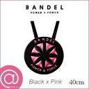 【正規品】BANDEL バンデル メタリック ネックレス BlackxPink 40cm ※※