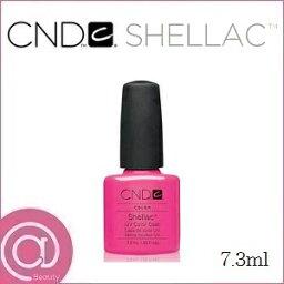 CND シェラック UVカラーコート 7.3ml 519 ホット ポップ ピンク