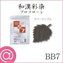グランデックス 和漢彩染 ブロコローレ BB7 120g【ヘアカラー/低刺激/ノンアルカリカラー剤】