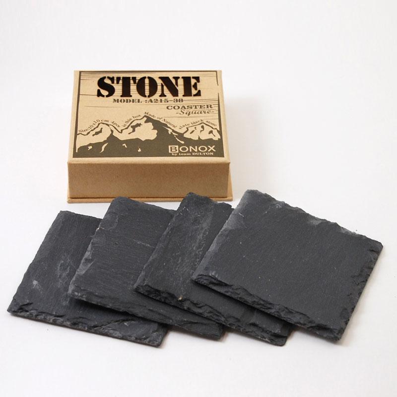 """ダルトン STONE COASTER """"Square"""" (4枚セット)"""