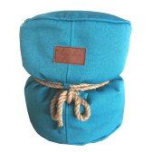 Lazy Bag ビーズクッションスツール 301-BB (カバーリング/ブルー)