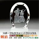 ≪トロフィー 剣道 スポーツ大会 名入れ 彫刻料込み 記念品...