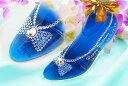 ◆送料無料◆キラキラリボンスワロ装飾♪名入れシンデレラリキュール・ブルー【ギフトラ