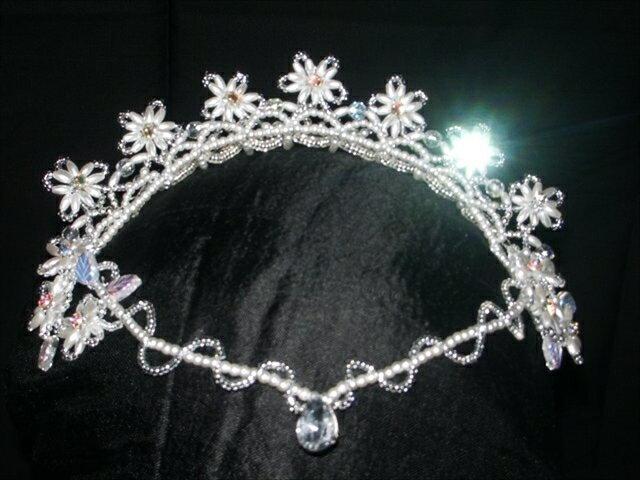 手作りバレエティアラ 12 ballet headpiece tiara  japan