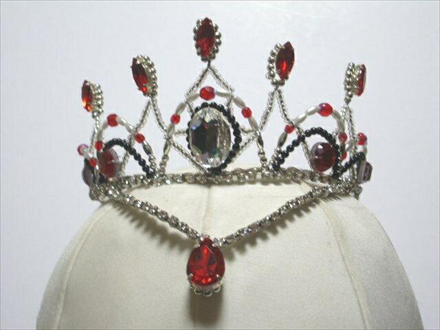 手作りバレエティアラ 18-2 ballet headpiece tiara  japan