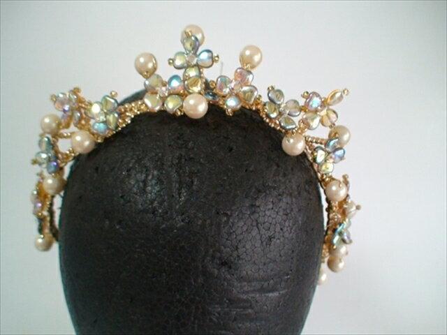 手作りバレエティアラ 34 ballet headpiece tiara