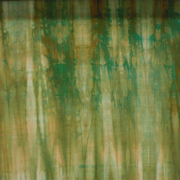 Patchwork for Japan-made uneven dye 金巾 fabric (scarry) * Vert-Noire * 02P24Jun11