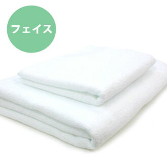 ◆ hard use for heavy-duty bi-fiber face towel * pure white * ◆ Japan-02P24Jun11