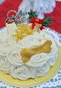 ワンコケーキ*クリスマスケーキ*S(犬用ケーキ)