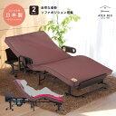 ★ポイント10倍★【組立設置/送料無料】安心の日本製!くつろぐベッド 収納式 AX-BE836