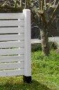 天然木製 ボーダーフェンス用ポール(ロータイプ95cm)目かくし(目隠し)や境界にウッドフェンス・木製フェンス・ゲート(門扉)をDIY!商品型番:jsbp-95...