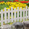 【7/31(日)まで全品ポイント5倍確定+ポイントアップも!】木製フェンス ボーダーフェンス ピケスティック目かくし(目隠し)や境界にウッドフェンス・木製フェンス・ゲート(門扉)をDIY!商品型番:jsbf-7760