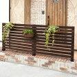天然木製 ボーダーフェンス(ベランダ de ウォール)目かくし(目隠し)や境界にウッドフェンス(木製フェンス)&ゲート(門扉)をDIY!商品型番:jsbf-880