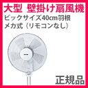 大型 壁掛け扇風機 【テクノス 40cm 壁掛けメカ扇風機 KI-W422】