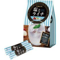 日東紅茶 塩とライチ 9.9g(180ml用)×10本入 567-1207