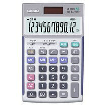 カシオ本格実務電卓 12桁 JS-20WK 21...の商品画像