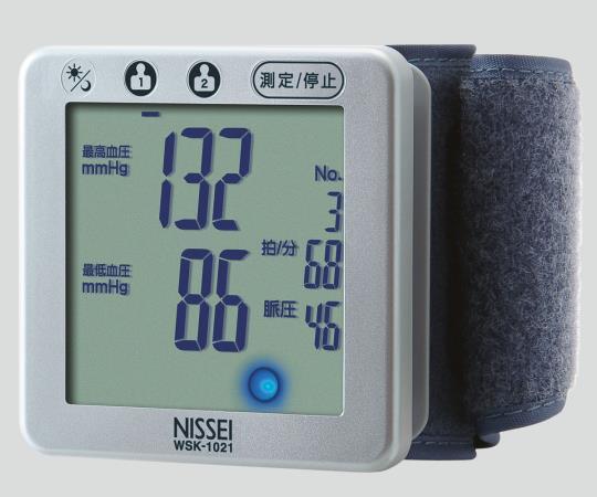 日本精密測器 デジタル血圧計(手首式) WSK-1021