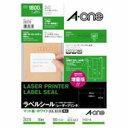 (業務用10セット) エーワン レーザープリンター用ラベルシール/宛名シール 【A4/18面 100枚】 28370