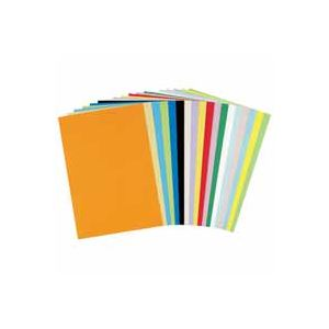 (業務用30セット) 北越製紙 やよいカラー 色画用紙/工作用紙 【八つ切り 100枚】 うすあか すべりもよく発色もきれい!教材・工作用・発表会使い方色々