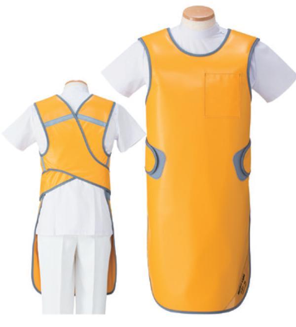 【送料無料】羽衣 放射線障害防護/X線防護 防護衣エプロン SLA-25M Mサイズ ソフライト(含鉛) カラー全7色  医療/病院/クリニック