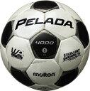 モルテン molten サッカー ペレーダ4000 土用 5号球 F5P4000 シャンパンシルバー×メタリックブラック 検定球