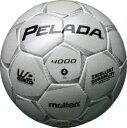 モルテン molten サッカー ペレーダ4000 土用 4号球 F4P4000-W Wシャンパンシルバー 検定球