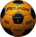 モルテン molten サッカー ペレーダ4000 土用 4号球 F4P4000-YK YKメタリックイエロー×メタリックブラック 検定球