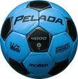 モルテン molten サッカー ペレーダ4000 土用 4号球 F4P4000-CK CKサックスブルー×メタリックブラック 検定球