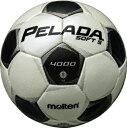 モルテン molten サッカー ペレーダ4002 土用 5号球 F5P4002 シャンパンシルバー×メタリックブラック 検定球