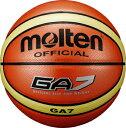 モルテン molten バスケットボール GA7 7号球 オレンジ 貼り 人工皮革 BGA7