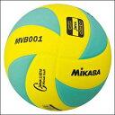 【※6月以降の入荷予定です】ミカサ MIKASA 混合バレーボール 5号球 MVB001-GY グリ