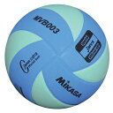 【※6月以降の入荷予定です】ミカサ MIKASA 混合バレーボール 5号球 MVB003-BLG ブ