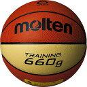樂天商城 - モルテン molten バスケットボール トレーニング用 6号球 貼り・人工皮革 約660g B6C9066