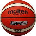 樂天商城 - モルテン molten バスケットボール GR5 5号球 BGR5-OI オレンジ×アイボリー