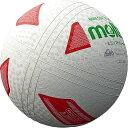 モルテン molten ミニソフトバレーボール S2Y1201-WX 白赤緑 小学校高学年向