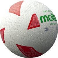 モルテン molten バレーボール ソフトバレーボール 白赤緑 検定球 S3Y1200-WXの画像