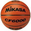 ミカサ MIKASA バスケットボール 6号球 CF6000 一般女子・大学女子・高校女子・中学女子用 検定球 国際公認球