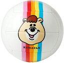 ミカサ MIKASA MIKASA&KUMATAN バレーボール 4号 レインボー WCJKU-V4-RAINBOW