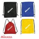 【ネーム加工可】ミカサ MIKASA ランドリーバッグ カラー4色(黒 青 赤 黄) BA-39