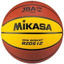 ミカサ MIKASA ミニバスケットボール 5号球 人工皮革 小学用 検定球 BZD512