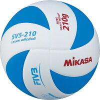ミカサ MIKASA バレーボール レッスンバレーボール 5号 EVA(特殊スポンジ)素材 約210g SV5-210-WBLの画像