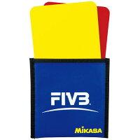 ミカサ MIKASA バレーボール警告カード バレーボール 審判 VKの画像