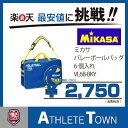 ミカサ MIKASA バレーボールバック 6個入れ VL6B-BL バレーボールバッグ