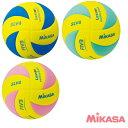 樂天商城 - ミカサ MIKASA バレーボール レッスンボール 4号球 軽量 重量約160g 優しい手ざわりとやわらかさを演出しコントロール性もしっかり保持! SLV4-YBL SLV4-YLG SLV4-YP