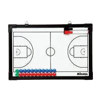 ミカサ MIKASA バスケットボール作戦盤 SB-B マーカーペン&マーカー消し付き マグネットタイプの画像