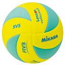 ミカサ MIKASA バレーボール レッスンバレー 5号球 イエロー×ライトグリーン 一般・大学・高校・キッズ用 SV5-YLG