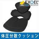 【バック・シートクッション】エクスジェル モニートツーリング 【送料無料】LR3055