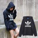adidas Originals 3FOIL HOODIE【アディダス オリジナルス 3 フォイル フーディ】BLACK【メンズ レディース】【ロゴ パーカー】【JASPO MENS規格】17SS-I【定番】 CRYOVR