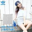 adidas Originals 3STRIPES SKIRT(アディダス オリジナルス スリーストライプス スカート)Medium Grey Heather【レディース】【JASPO WOMENS規格】16SS-I