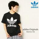 adidas Originals ORIG TREFOIL TEE(アディダス オリジナルス オリジナル トレフォイル Tシャツ)Black【メンズ】【レディース】【ロゴT】【JASPO MENS規格】16SS-I
